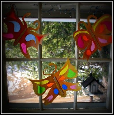 Twig and Toadstool: Beautiful Paper Butterflies!