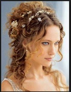 peinado griego con estilo pelo suelto Mariage cheveux