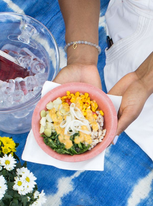 Southern Lima Bean Buddha Bowl
