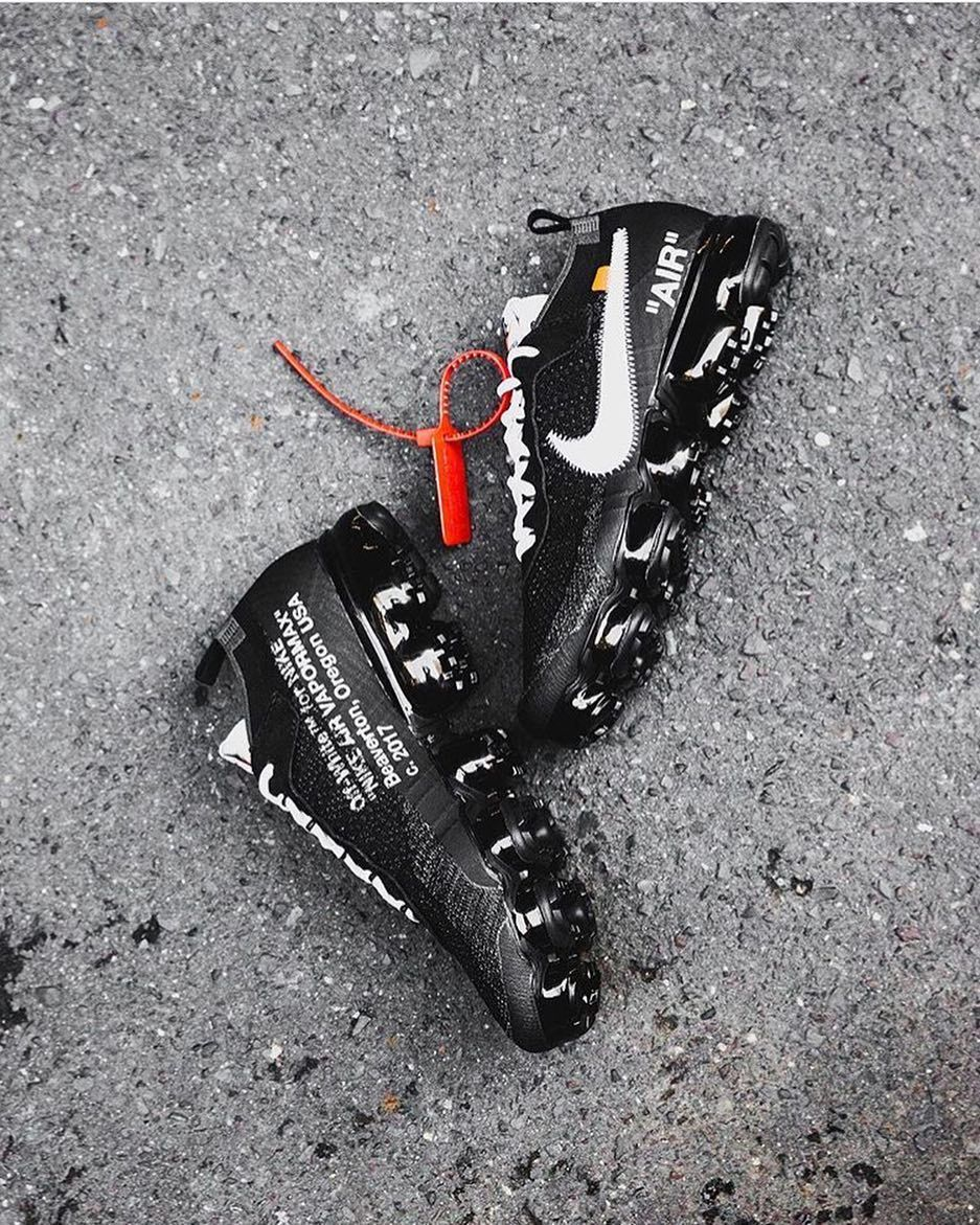 Off White X Nike Air Vapormax The Best One Of The Ten By Ubiqlife 99kicksde For Shoutout Sneakers Men Fashion Mens Fashion Shoes Sneakers Nike