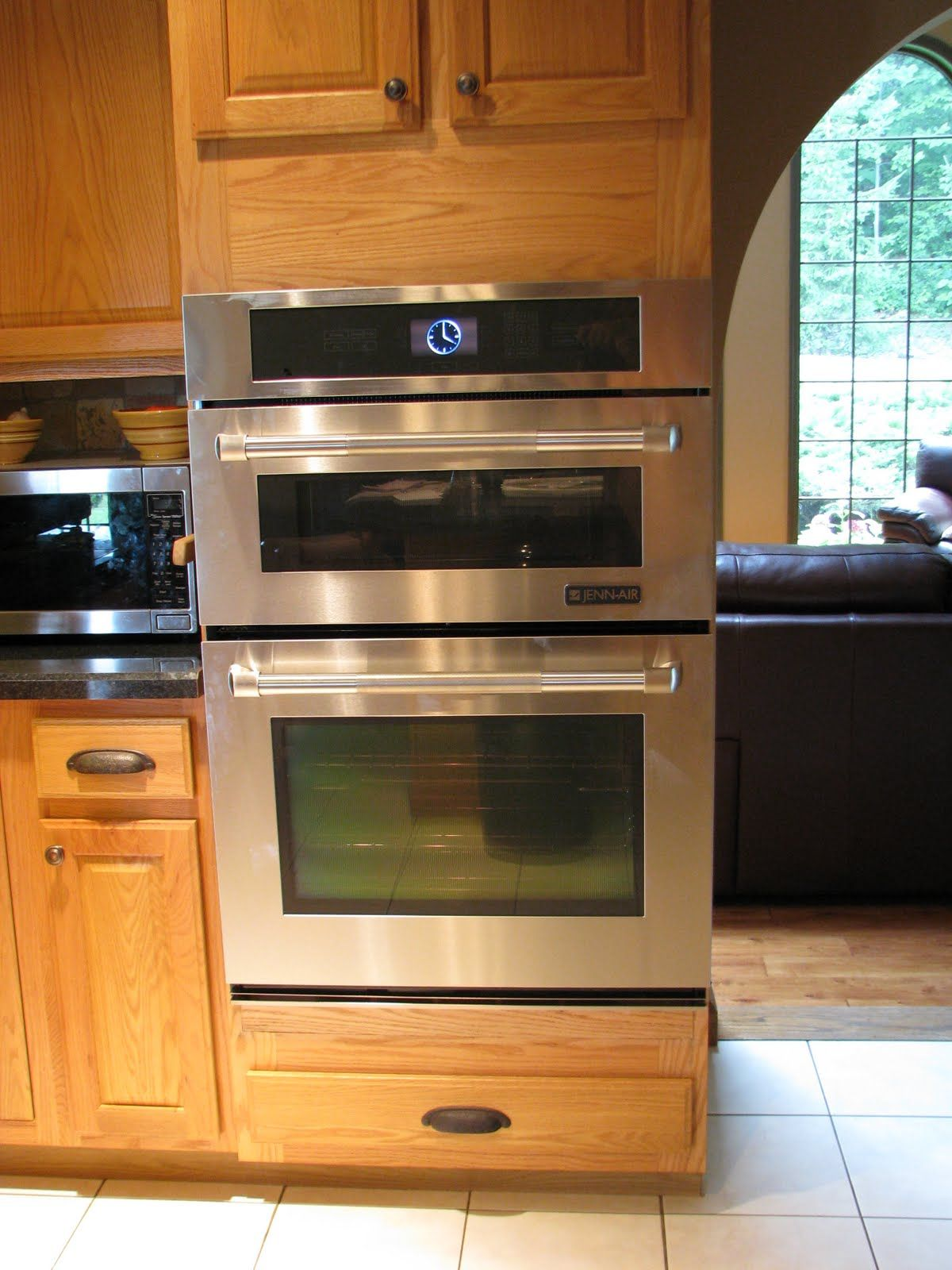 Small Kitchen With Double Oven ~ Double wall oven like the smaller too for