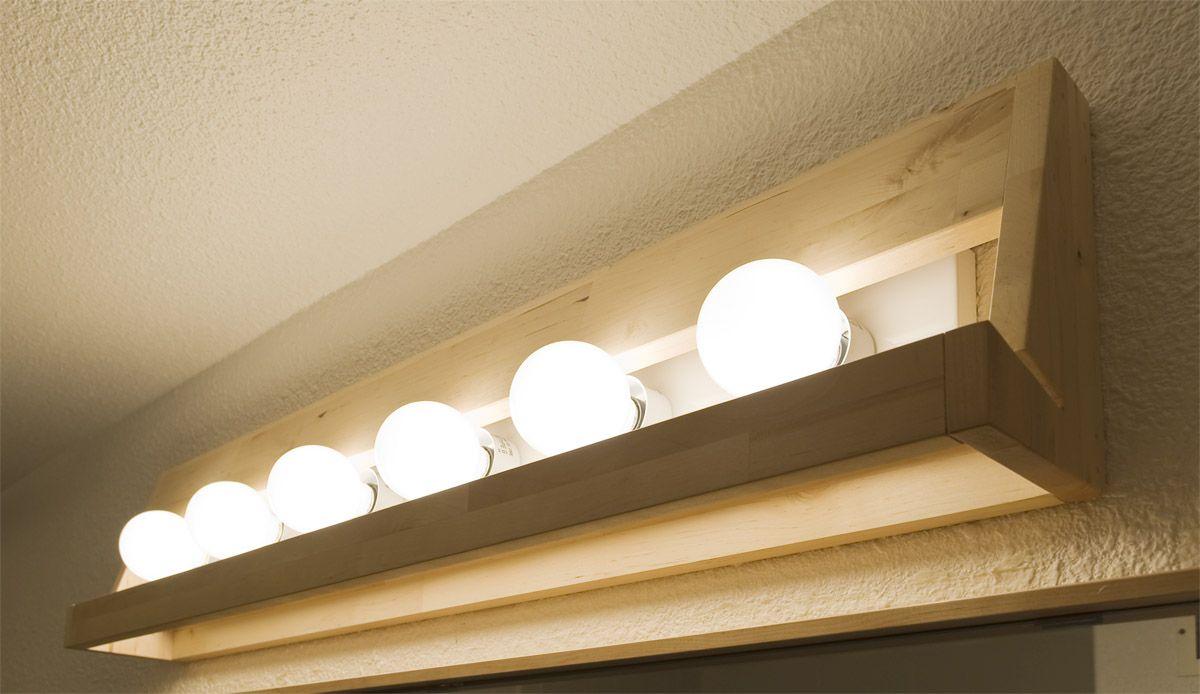 Varde Shelf Duck Bath Light Swan Ikea Hackers Ikea Bathroom Lighting Wood Light Fixture Home Lighting Design