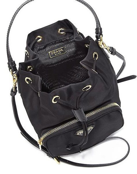 1749529128 Prada Tess Drawstring Nylon Bag- Nylon Handbag Worth Purchasing ...