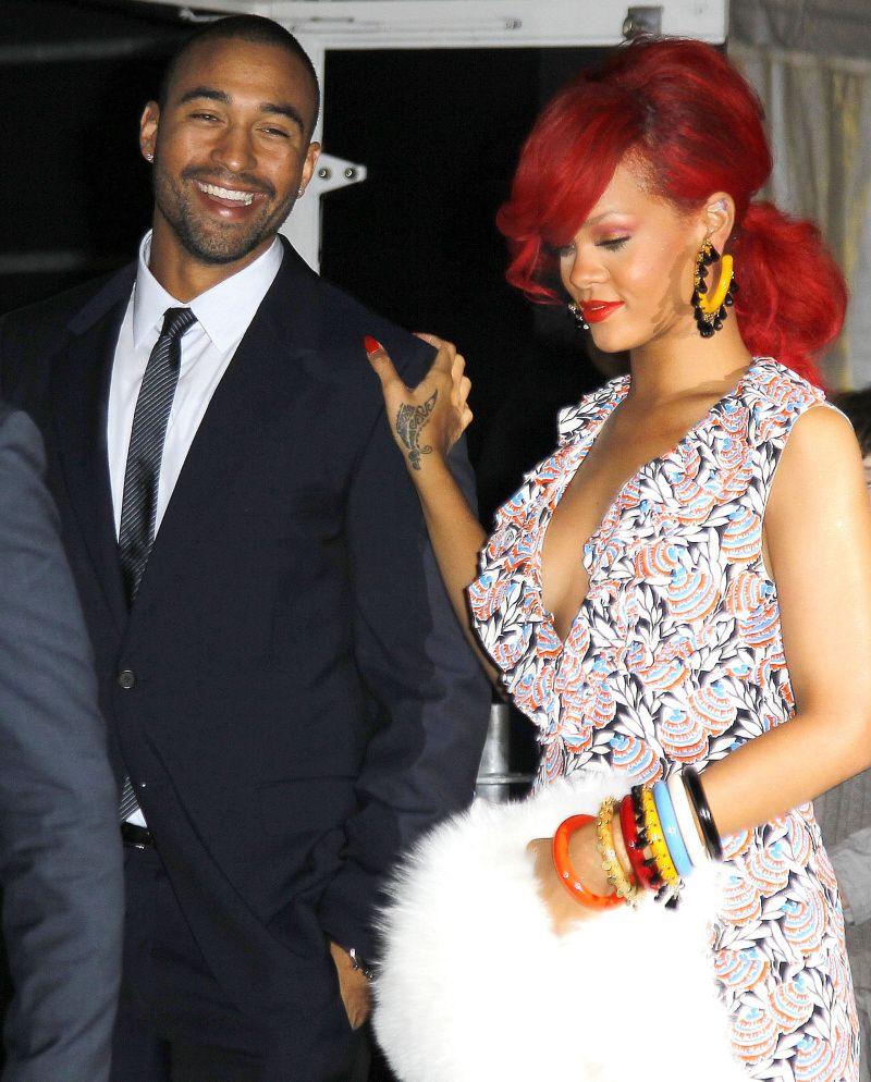 wenn5552728 Rihanna, Matt kemp, Date night outfit