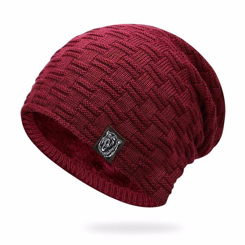 0744420cde7 ZYSK 2018 Turban Hat Cotton Skullies Men Knitted Wool Hats Funny Hat for Women  Winter Beanies Bone Gorros Hats for Women Gorros  HatsForWomenFunny