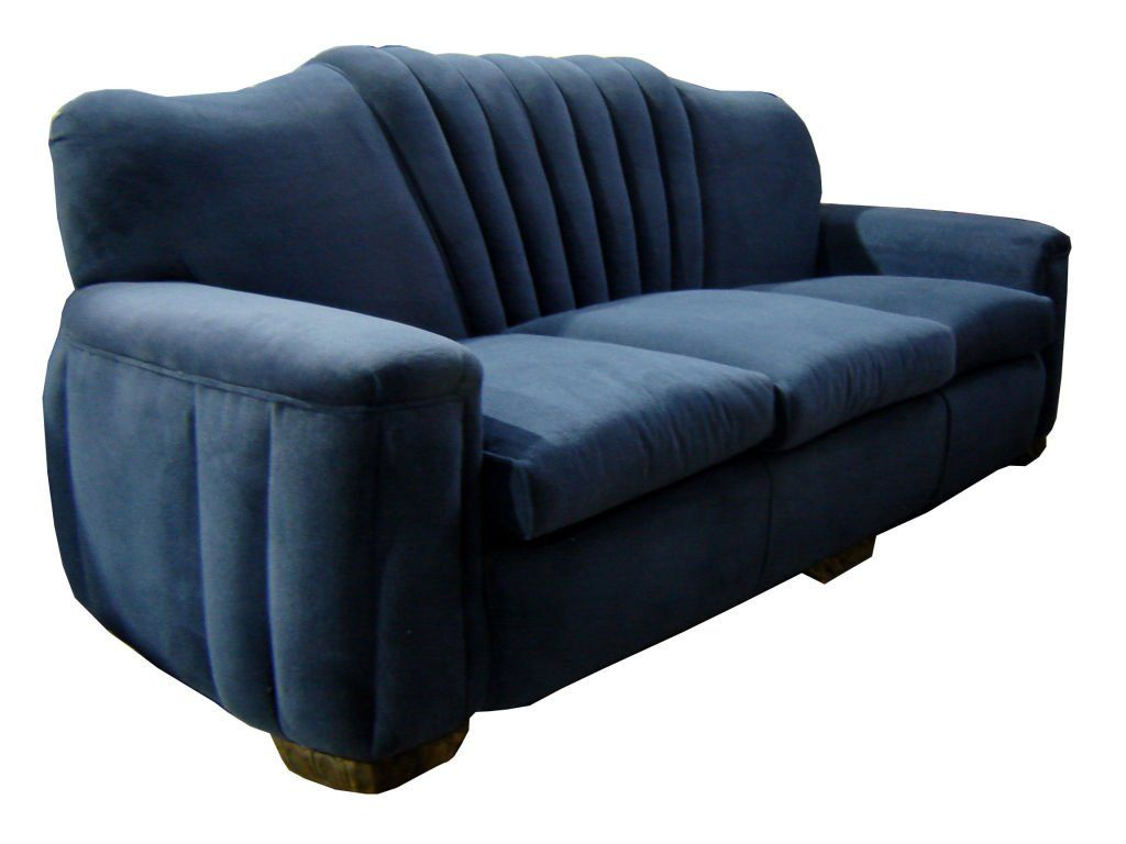 art deco couch and chair