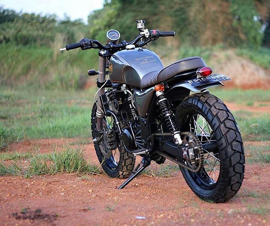 Ninja 250 Nice Scrambler Scramblers Kawasaki Cafe Racer Cafe