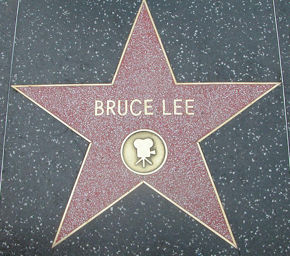 Image result for bruce lee walk of fame
