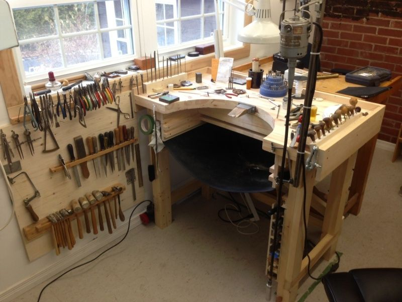 jewelers bench pinterest. Black Bedroom Furniture Sets. Home Design Ideas