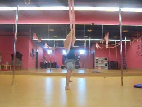 standing plank series  aerial yoga yoga swing yoga tutorial