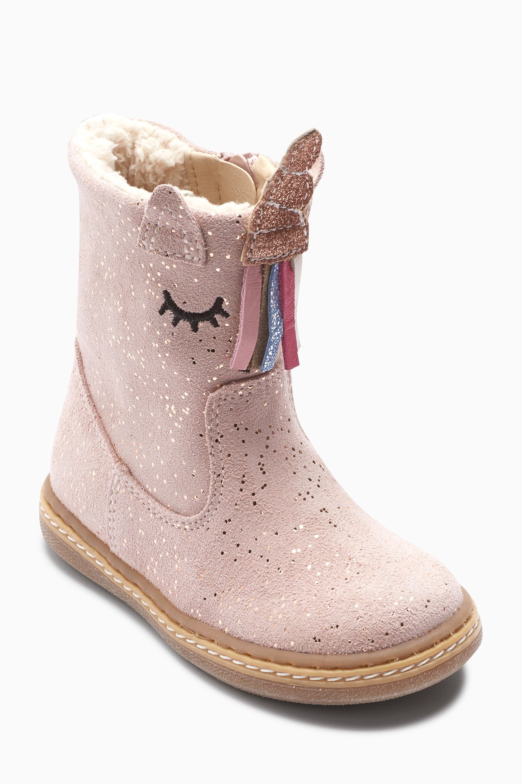 Buy Pink Unicorn Boots (Younger) from