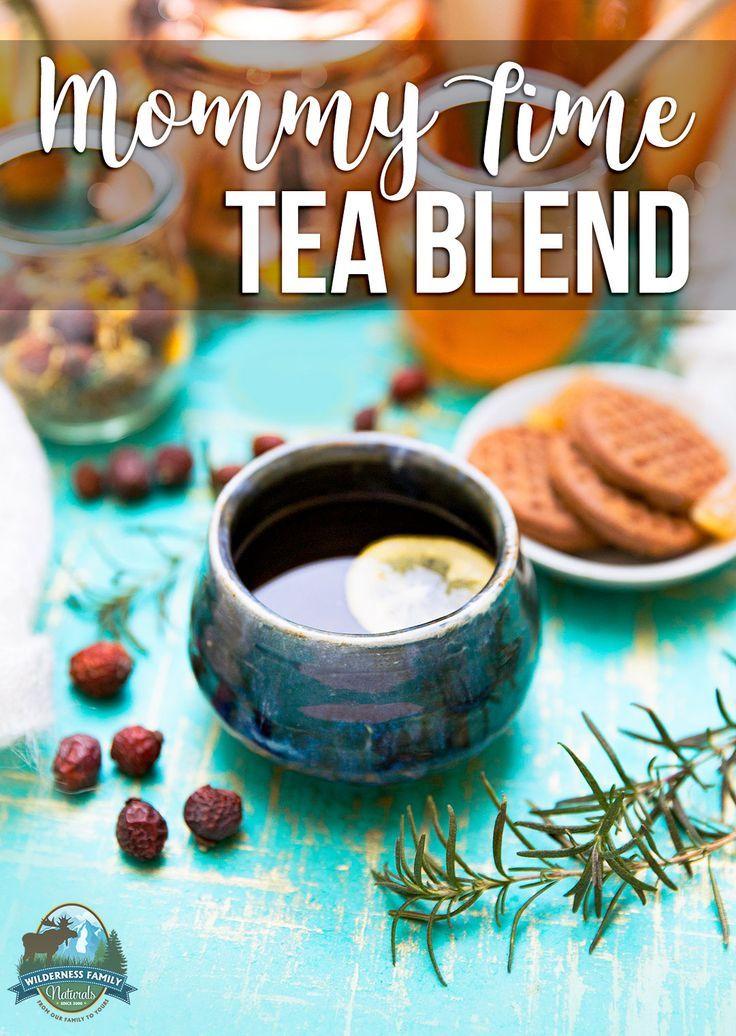 Mommy Time Tea Blend Tea blends, Real food recipes, Tea