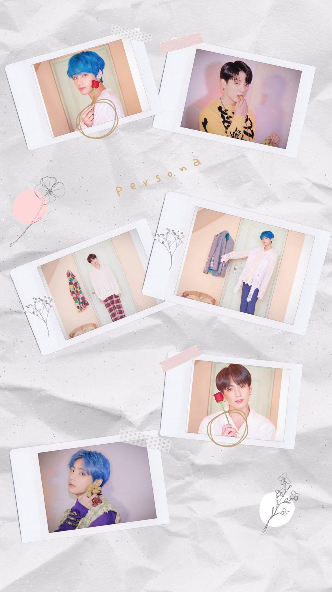 Persona Lockscreen Wallpaper Ot7 Gambar Bts Bts Gambar Gambar wallpaper wa bts