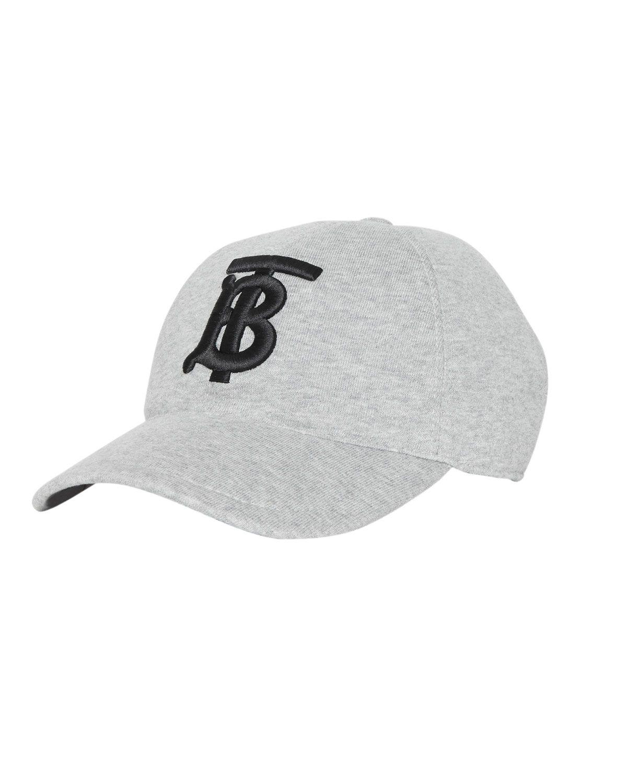 4c0f1f25 BURBERRY MEN'S TB JERSEY BASEBALL CAP, GRAY. #burberry | Burberry in ...