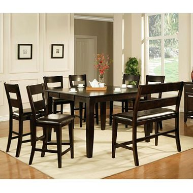 Weston Counter Height Table  Espresso  Espresso Dining And Kitchens Captivating Espresso Dining Room Sets Decorating Inspiration