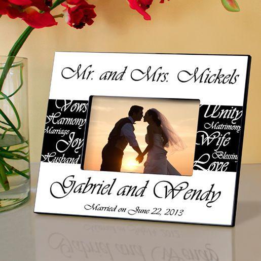 Mr. & Mrs. Wedding Frame
