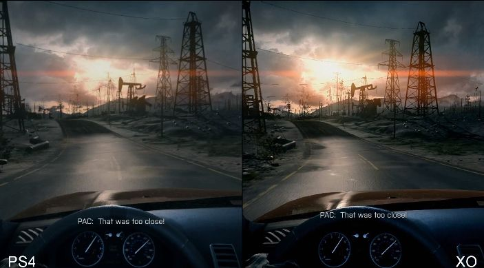 Battlefield 4 Ps4 Vs Xbox One Video Comparison S Of Early