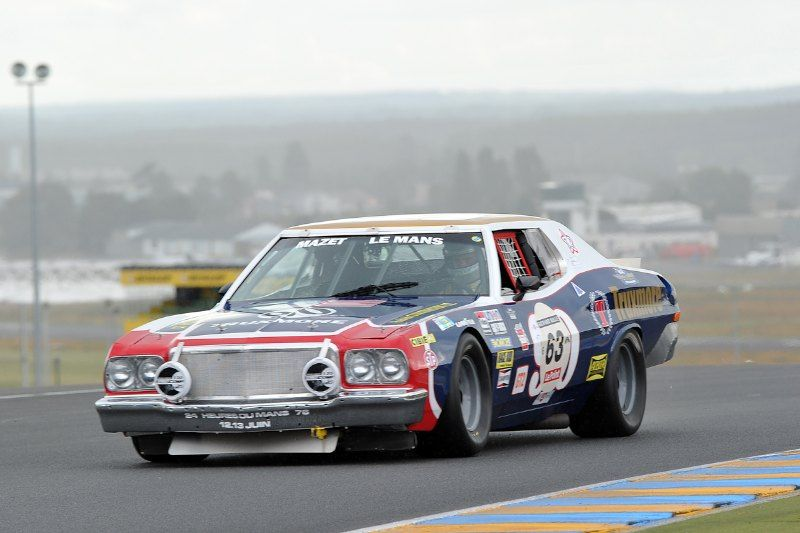 Ford Gran Torino 1976 Sports Car Racing Nascar Cars Ford Racing