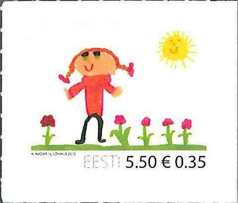 """日本郵趣エージェンシーさんのツイート: """"今日6月1日は「国際子供の日」です。エストニア2010年発行「国際子供の日」切手はかわいらしい児童画(^^) https://t.co/DGL0ET2szI https://t.co/bZy8WIRREJ"""""""