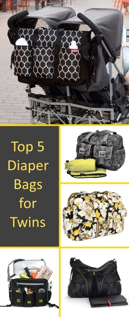 Top 5 Diaper Bags For Twins Cute Choices Such Huge And