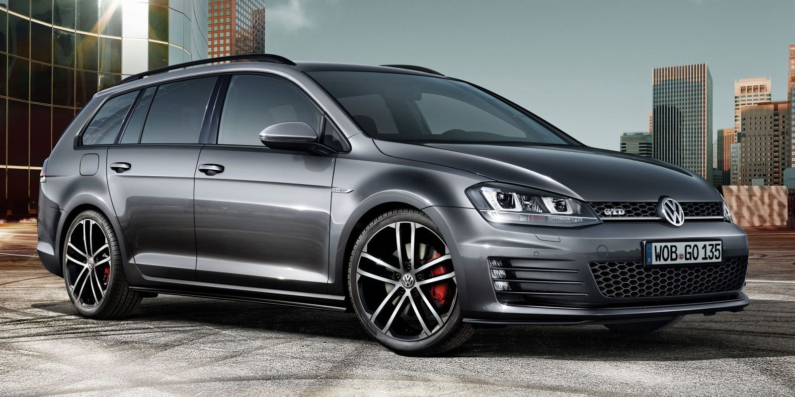 This Is The Vw Golf Gtd Wagon For Our European Friends In 2020 Mașini