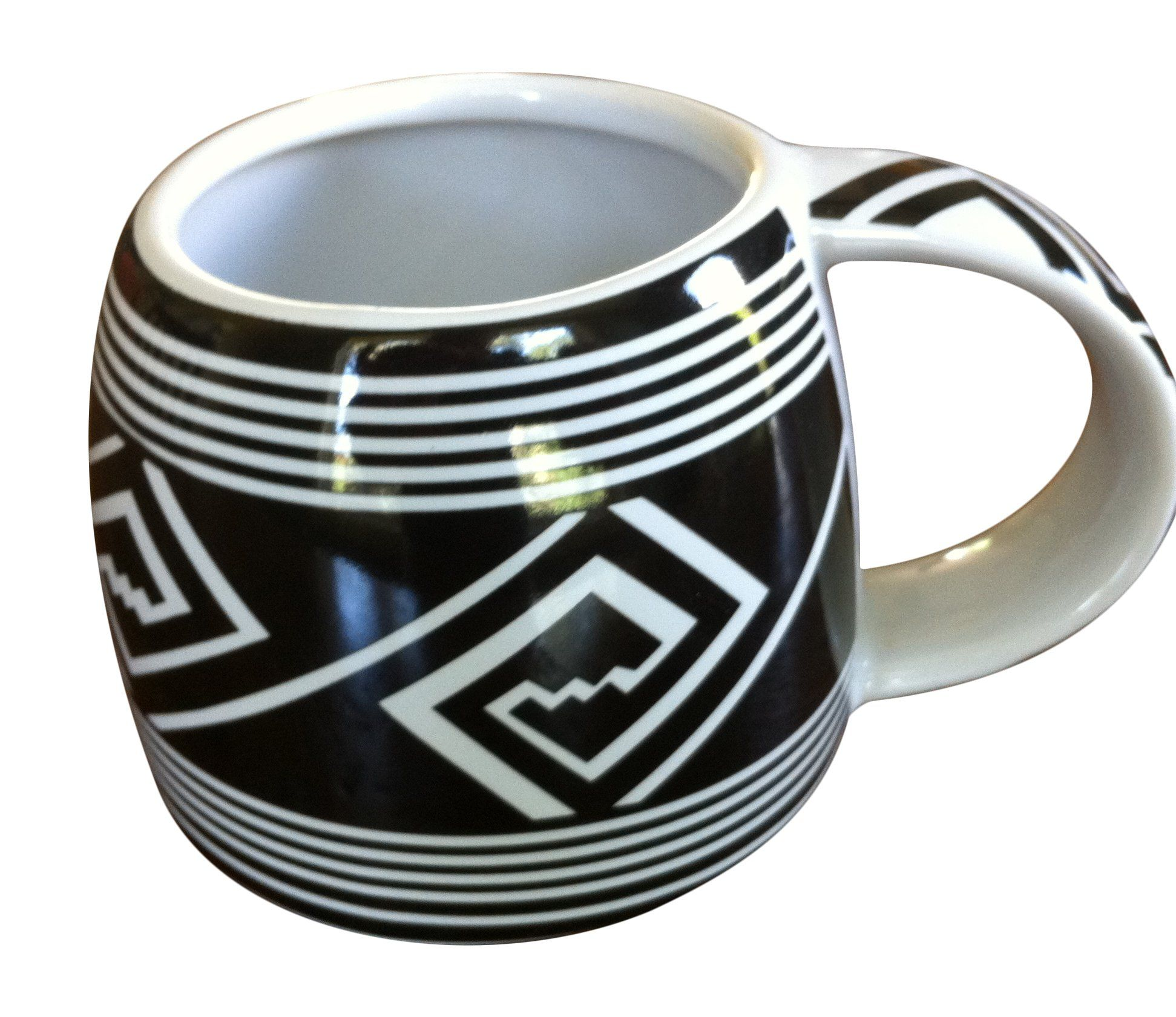 Distinctive 8 oz.Ceramic Mug With Ancient