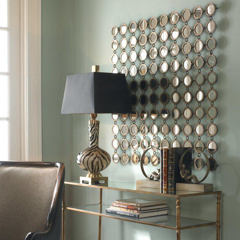 Emblyn Square Metal Wall Mirror Mirror Wall Art Mirror Wall
