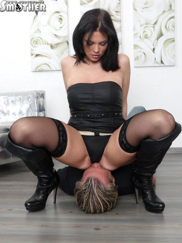 image Slut sitting on and fucking a bottle