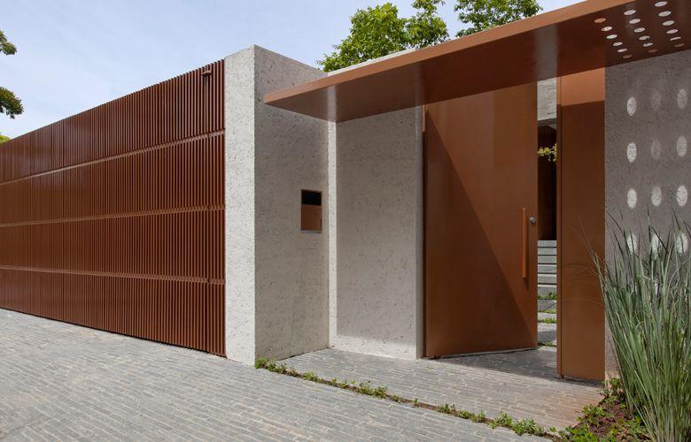 Modelos e fotos de port es de casas modernas note and doors - Modelos de casas modernas ...