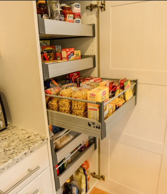 Pantry Like The Slider Drawers