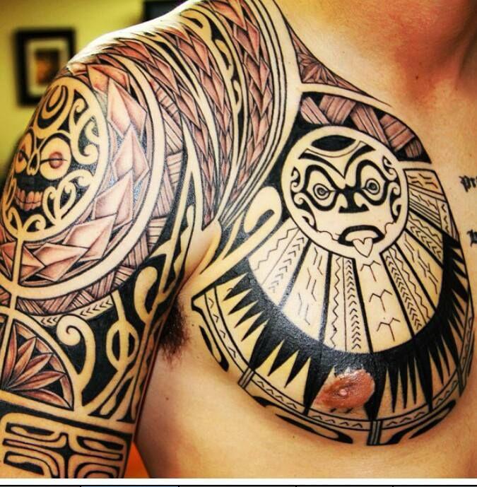 tattoo maorie polynesian tattoo sleeve tattoos. Black Bedroom Furniture Sets. Home Design Ideas
