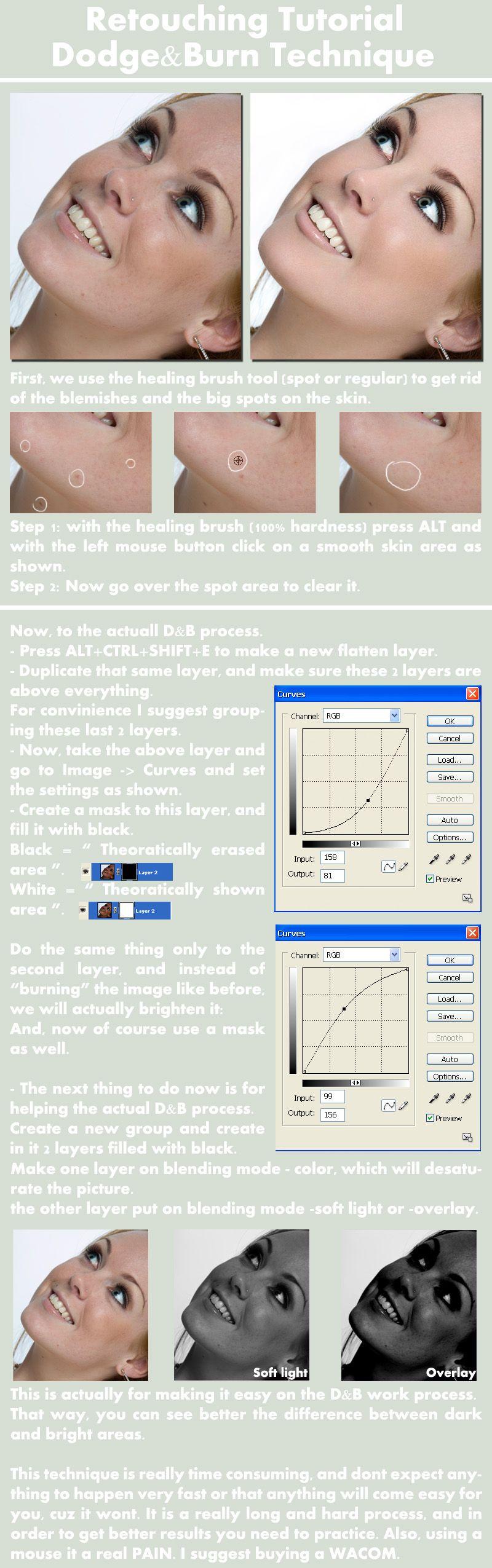 Dodge and Burn Tutorial Part 1 by ~Nienna1990 on deviantART