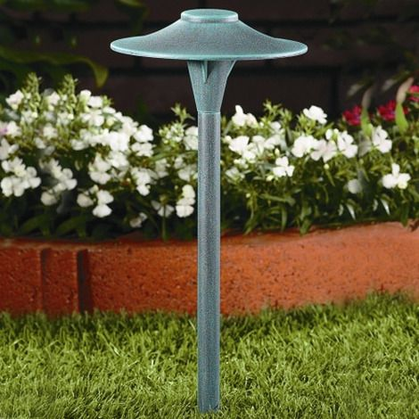 Vista 4704 Led A Perfect Fit For The Contemporary Landscape Design This Low Voltage Path Light Fixture Is Constructed Of Cast Copper Free Aluminum