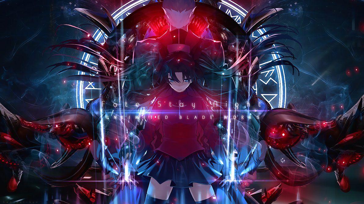 Fate Stay Night Ubw Wallpaper By Senzaki Kun On Deviantart Fate Stay Night Rin Fate Stay Night Digital Art Anime