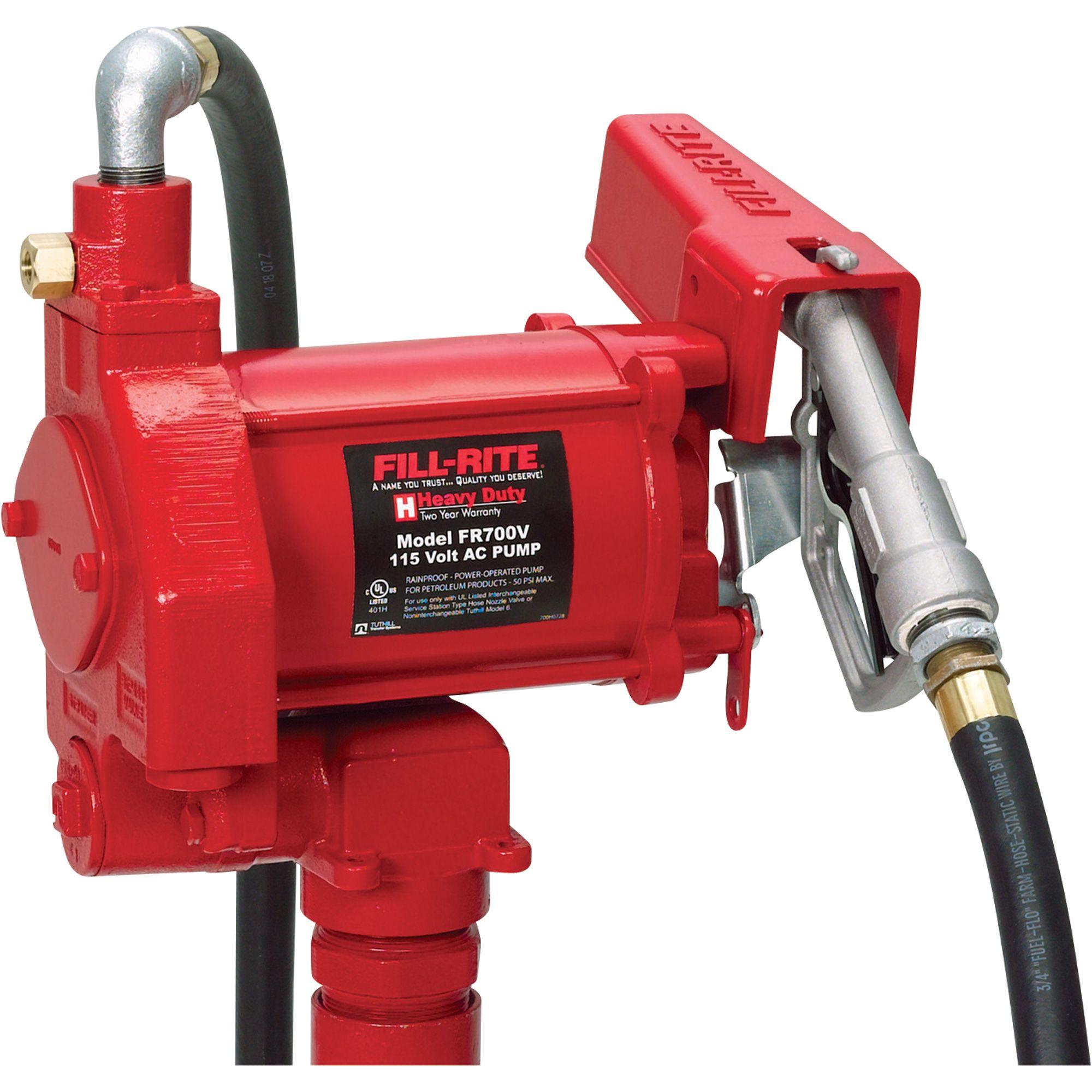 Fill-Rite Fuel Transfer Pump | Fuel Transfer + Lubrication