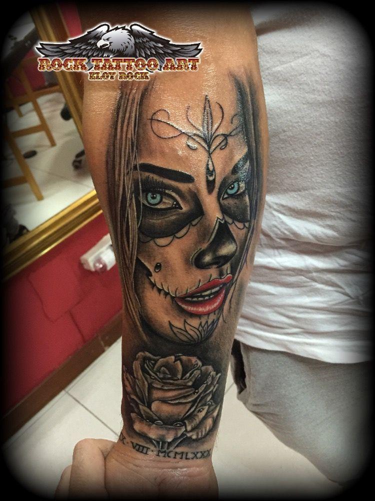 Catrina En Antebrazo Tattoo Ideas Tattoos Picture Tattoos Rock