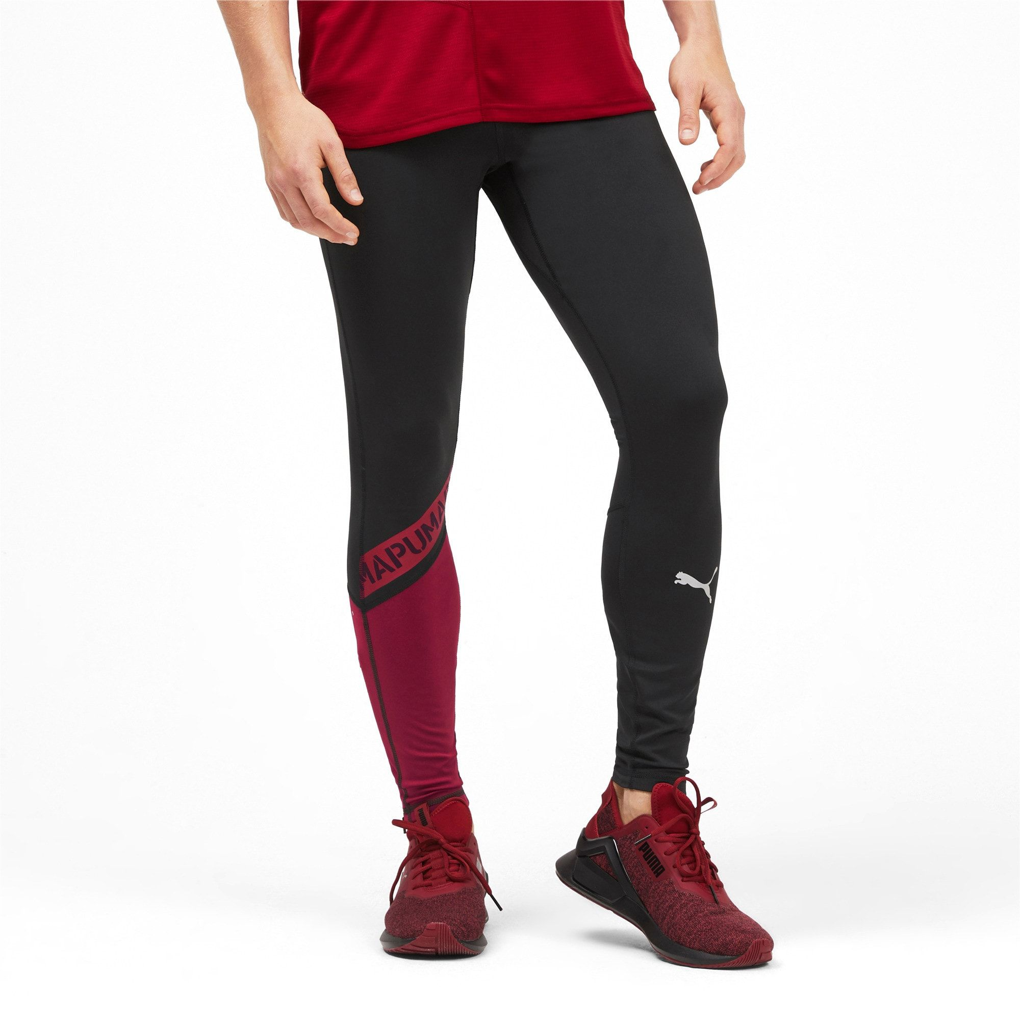 PUMA Collant GetFast THERMO R+ Running pour Homme, Noir