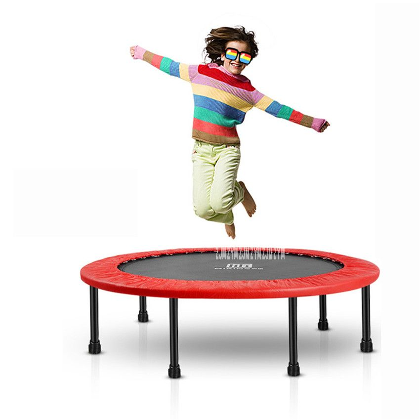 MK-40 Children Fitness Trampoline for home Storage Elastic Thickly Padded Cover Offer More Safety Size:40inch PVC Material