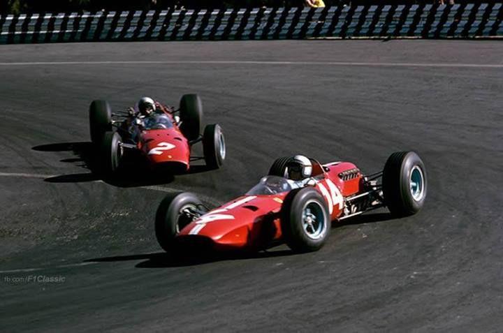 f1 Clovis Claude Viseur.-Mexico 1965