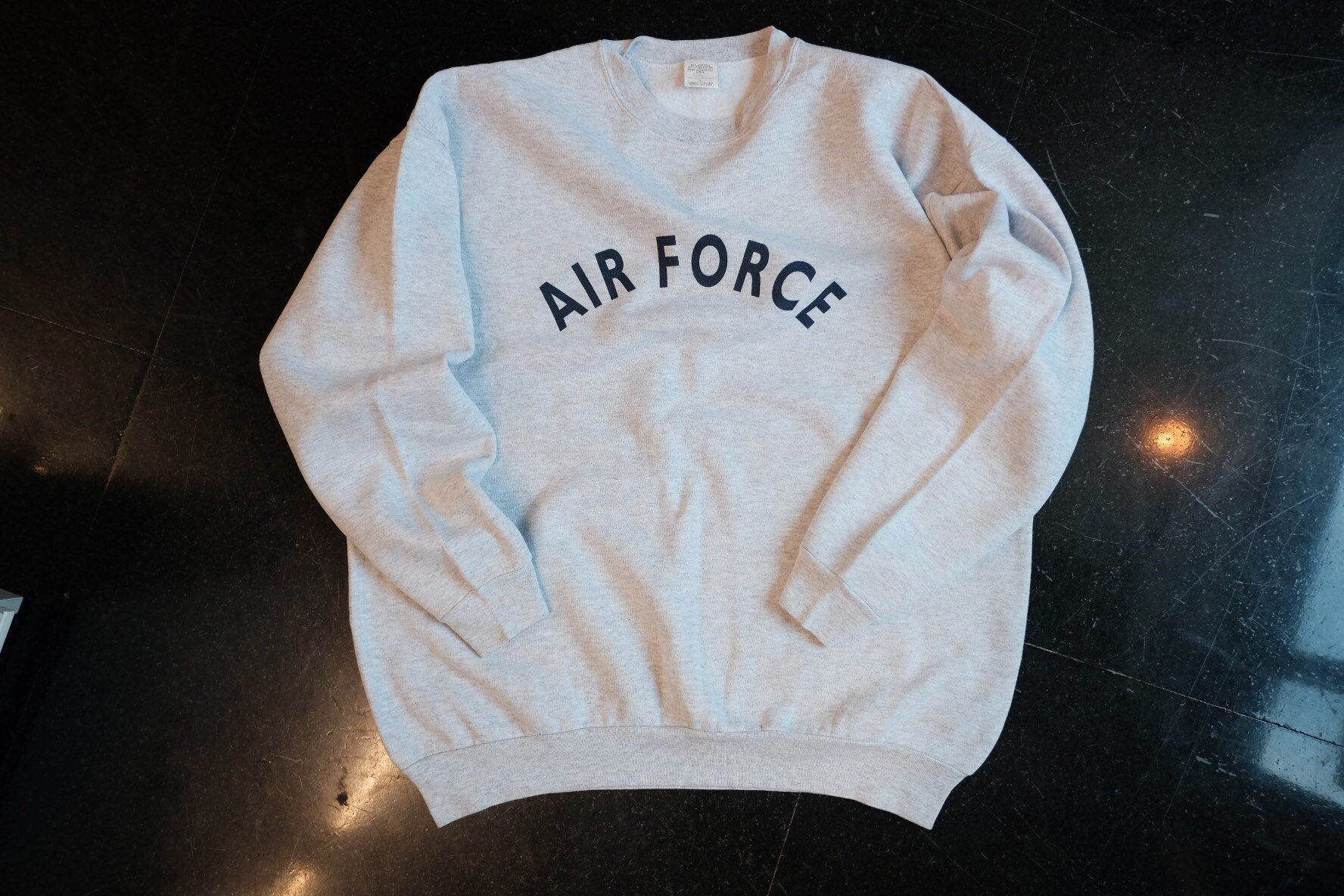 Air Force Sweatshirt 90s Sweatshirt Size L Etsy Air Force Sweatshirt Sweatshirts 90s Sweatshirt [ 1184 x 1776 Pixel ]