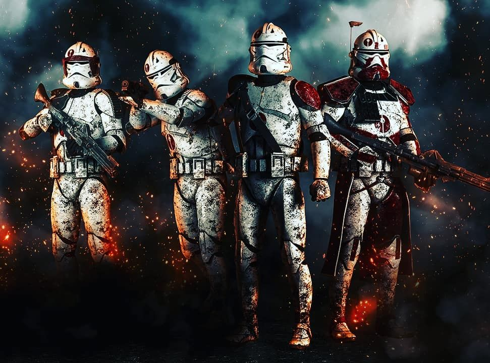 Star Wars Fanpage On Instagram The 91st Mobile Reconnaissance Corps Starwars Starwarsgeek Starwarsfa Star Wars Pictures Star Wars Images Star Wars Awesome