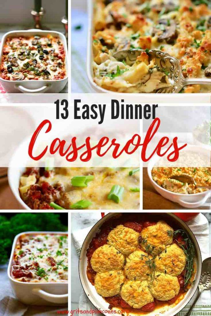 11 Easy Dinner Casserole Recipes images