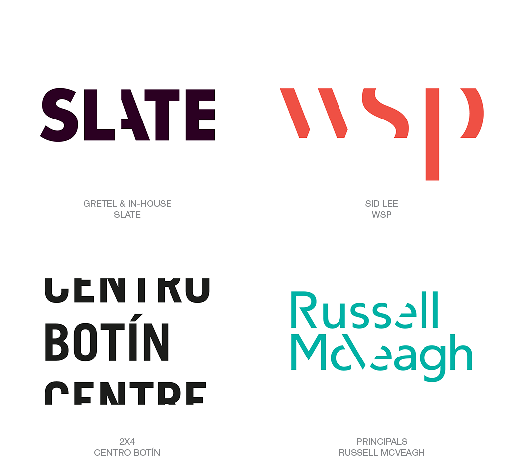 Logo Design Trend 2018: Cut
