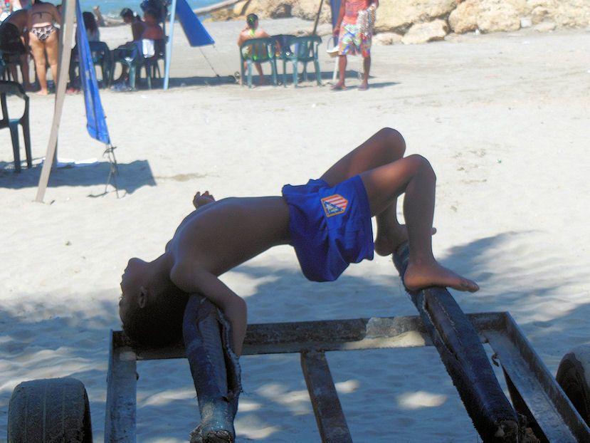cartagena 12/2013: l'acrobata