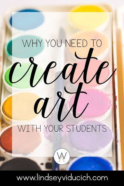 Why You Need to Create Art with Your Students at Whimsy Academy