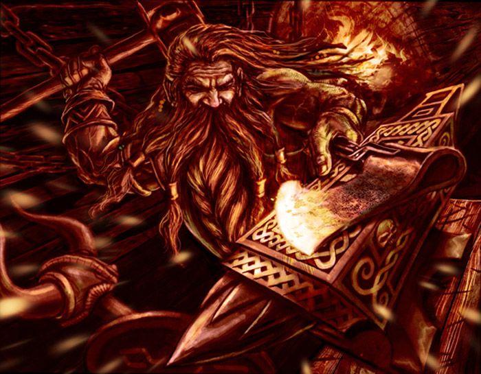 Image of Norse Dwarf Norse Svartalfheim