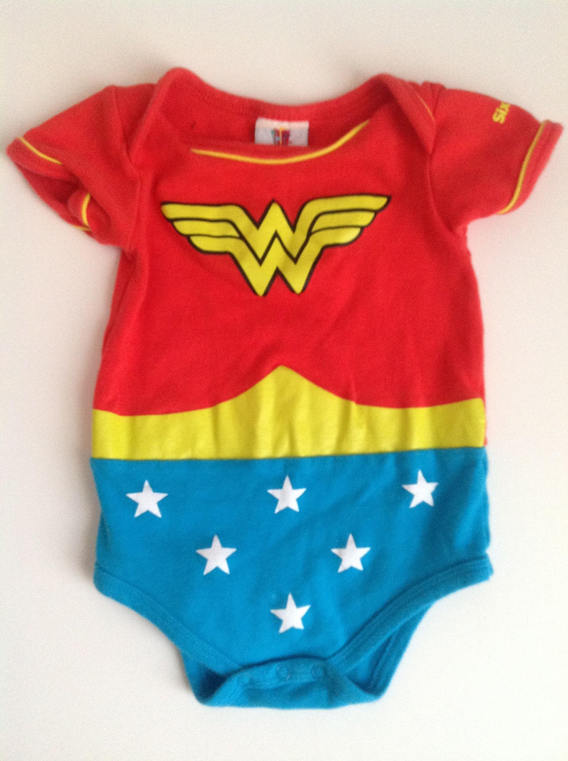 55788f36f78f Wonder Woman onesie