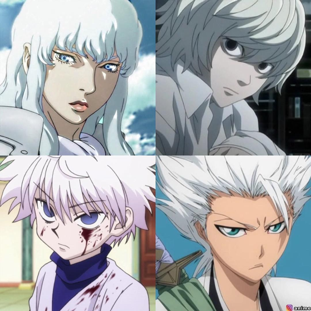 Who is your favorite white haired anime character? Anime