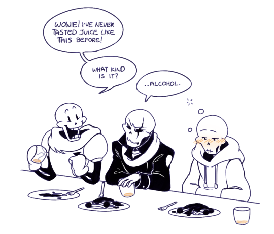 Paps, Underfell papyrus is not a good role model at all | Undertale