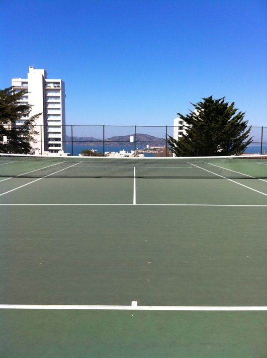 20 Of The Most Enticing Home Tennis Courts Tennis Court Tennis Court
